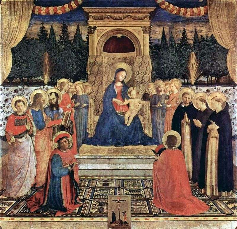 Altar of San Marco by Fra Beato Angelico