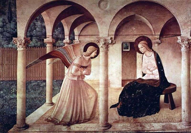 Annunciation by Fra Beato Angelico