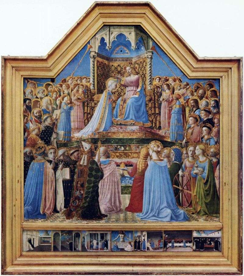 Coronation of the Virgin Mary by Fra Beato Angelico