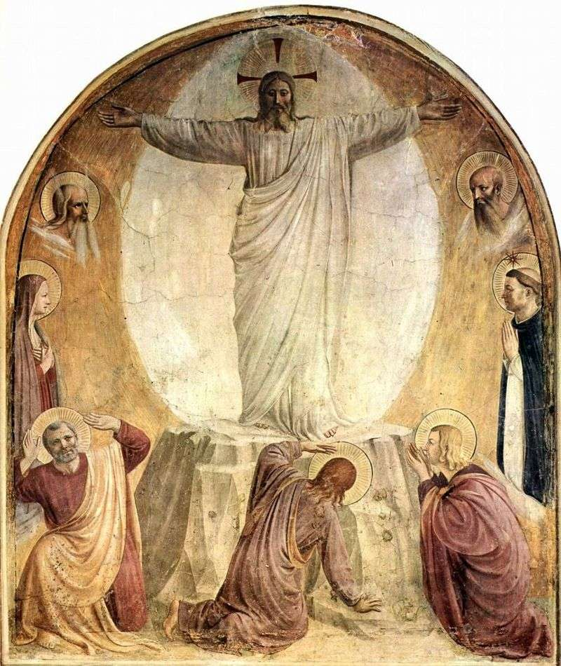 Transfiguration of Our Lord   Fra Beato Angelico
