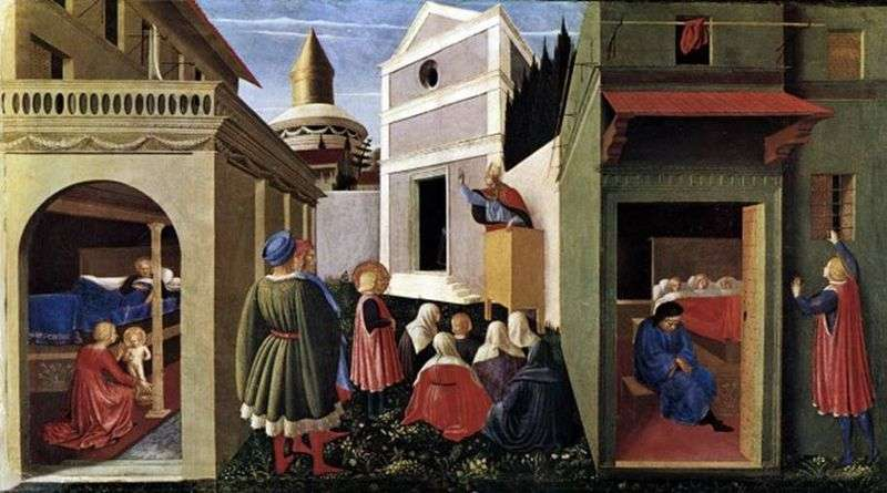 Scenes from the life of St. Nicholas by Fra Beato Angelico