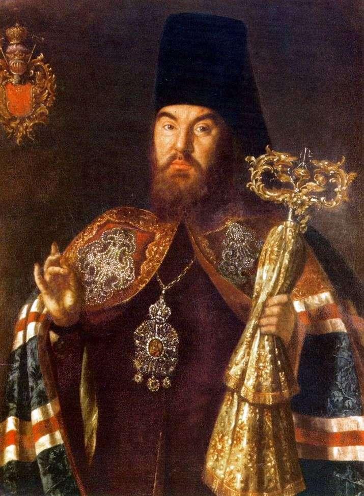 Portrait of Archbishop S. Kulyabki by Alexei Antropov