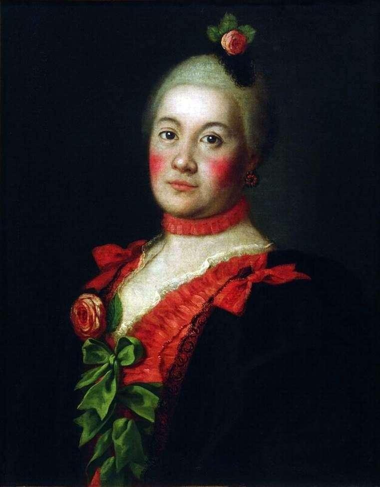 Portrait of Princess TA Trubetskoi by Alexei Antropov