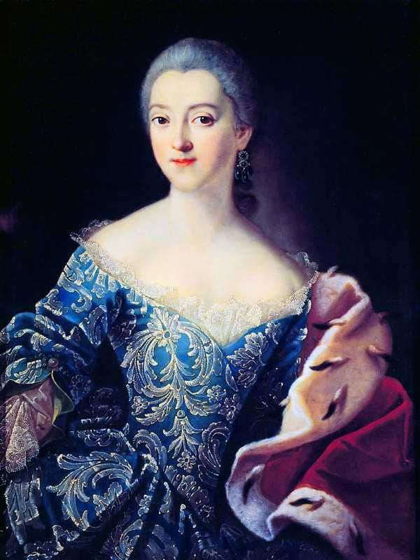 Portrait of Princess EA Lobanova Rostovskaya by Ivan Argunov