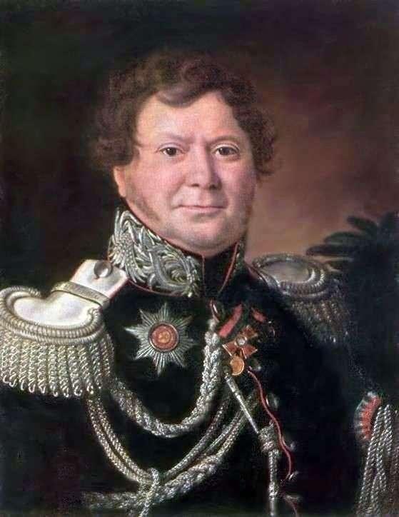 Portrait of N. N. Muraviev by Ivan Argunov