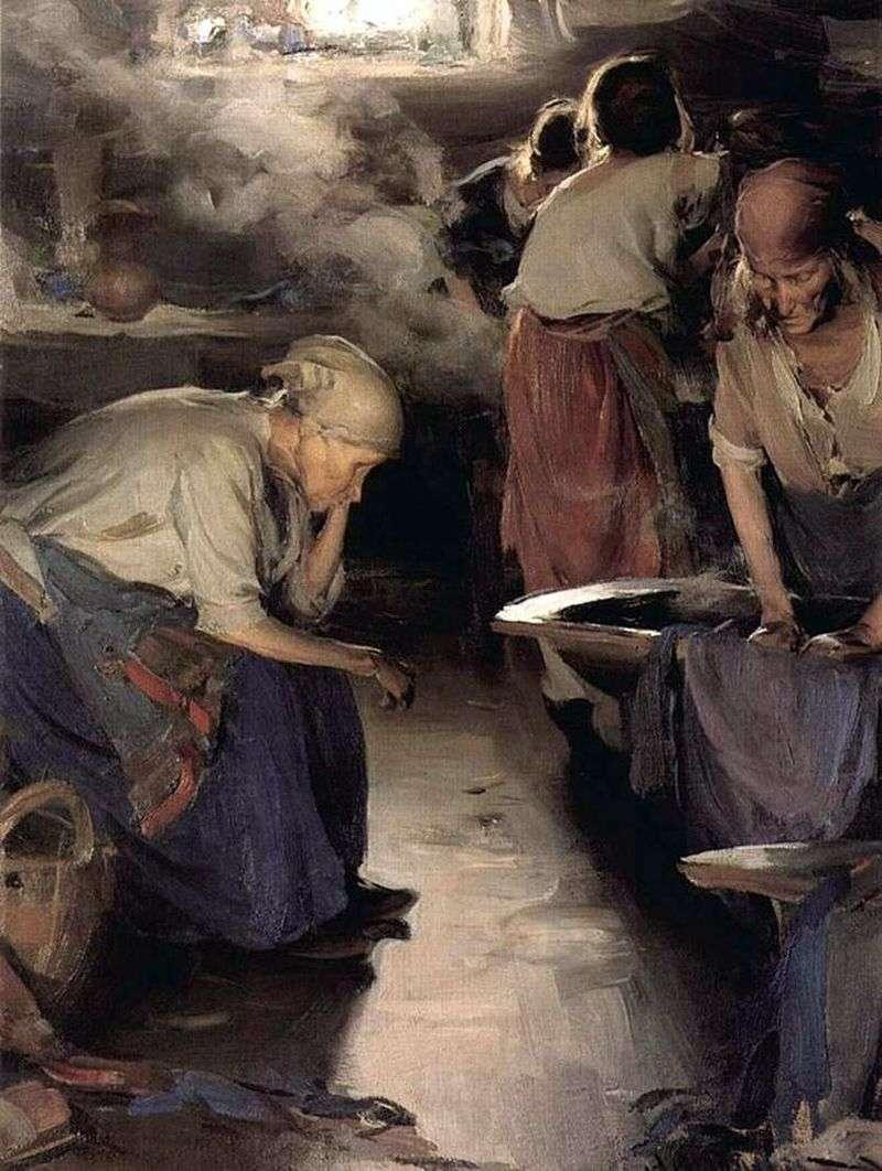 Washerwomen by Abram Arkhipov