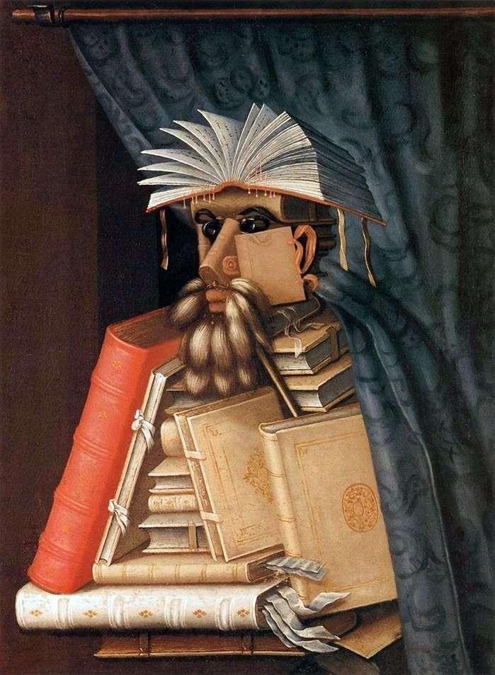 Librarian by Giuseppe Arcimboldo