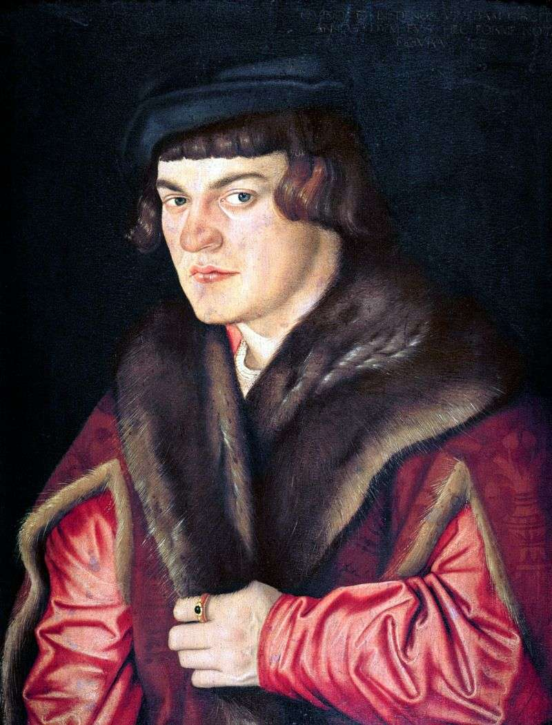 Self Portrait by Hans Baldung