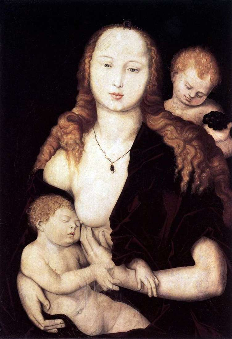 The Virgin and Child by Hans Baldung