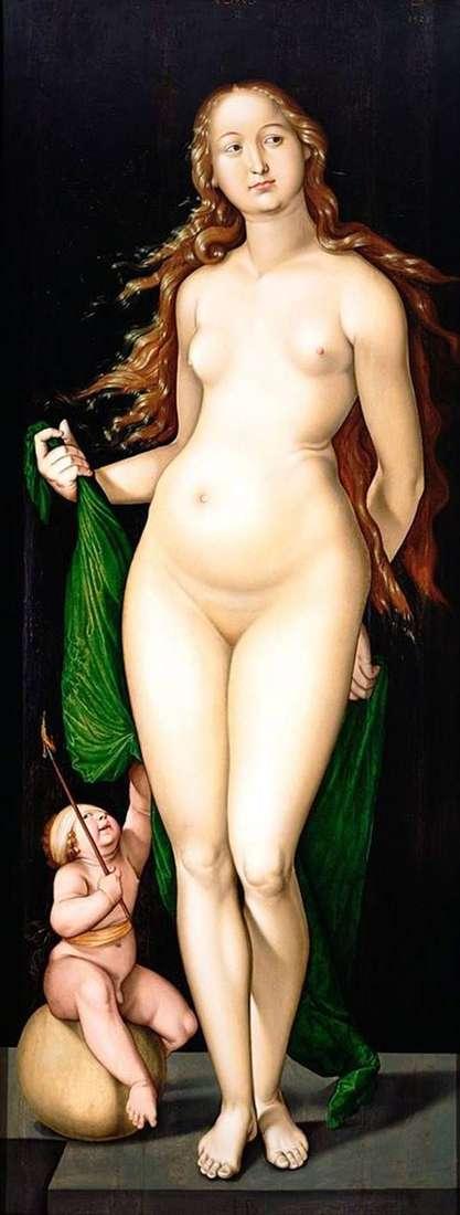 Venus and Cupid by Hans Baldung