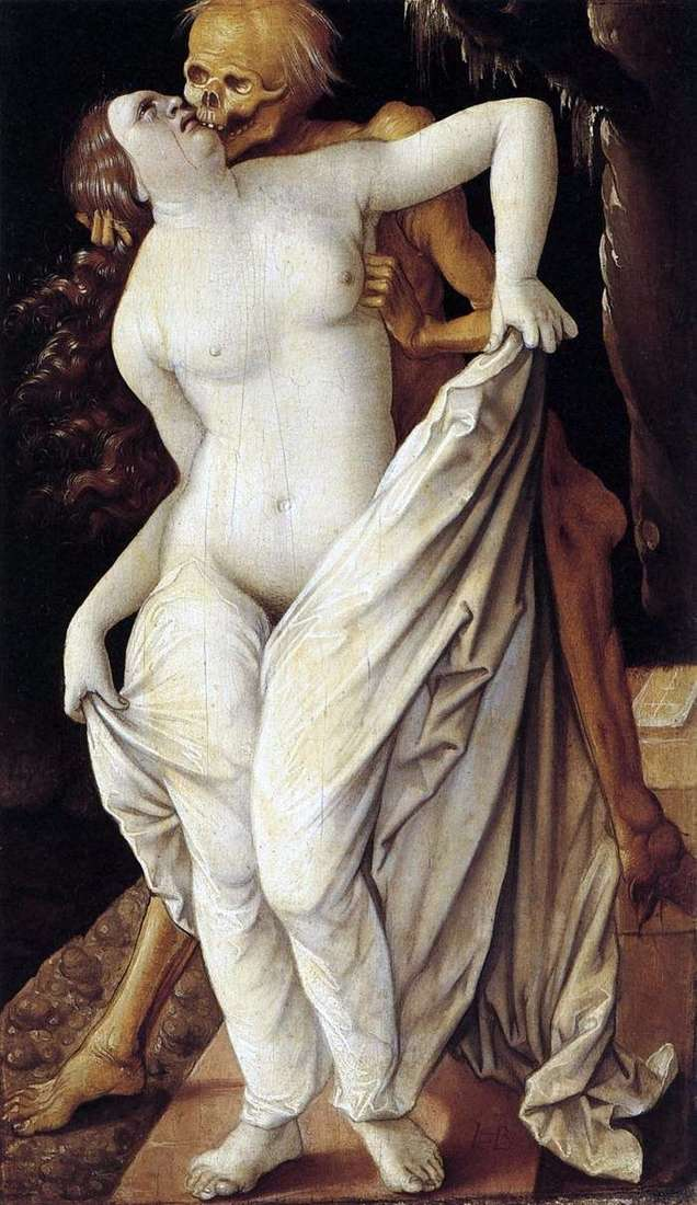 Girl and Death by Hans Baldung