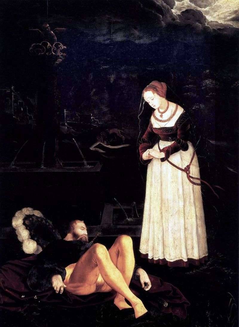 Piram and Fisba by Hans Baldung