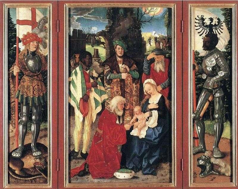 Adoration of the Magi by Hans Baldung