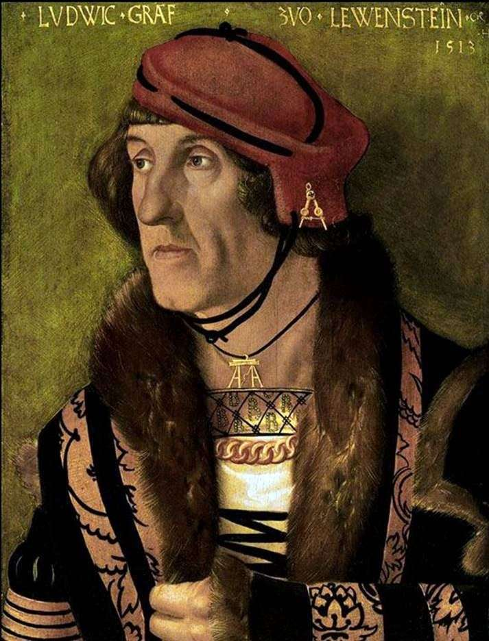 Portrait of Count Ludwig Levenshtein by Hans Baldung