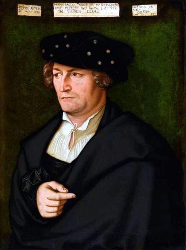 Portrait of Jacob von Morsperg by Hans Baldung