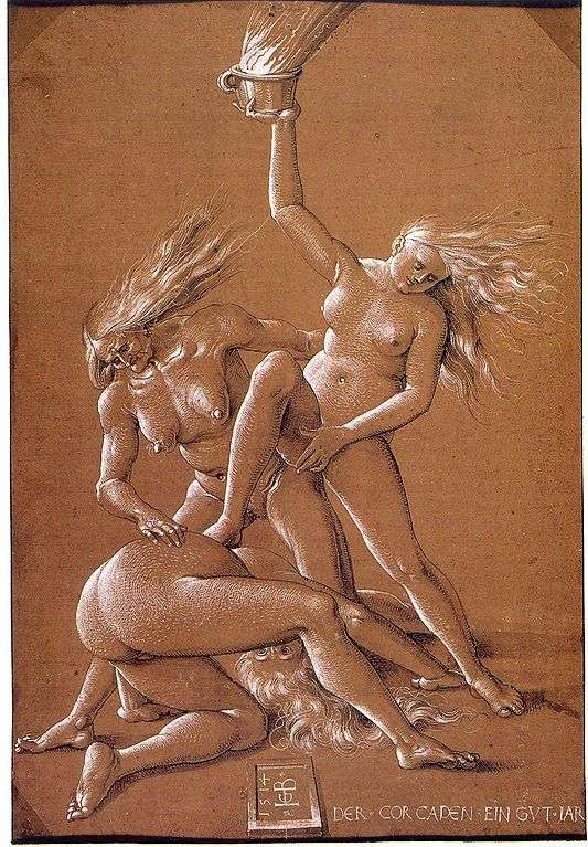 Three Witches by Hans Baldung