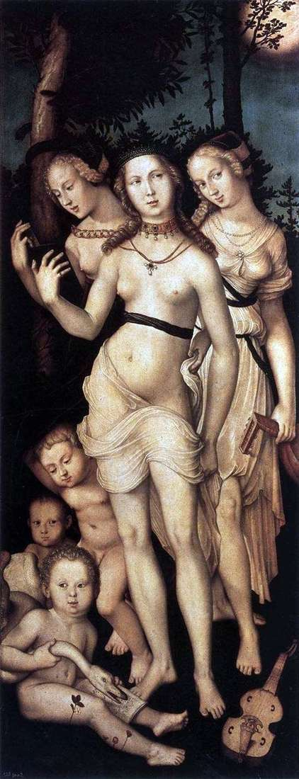 Three Graces by Hans Baldung