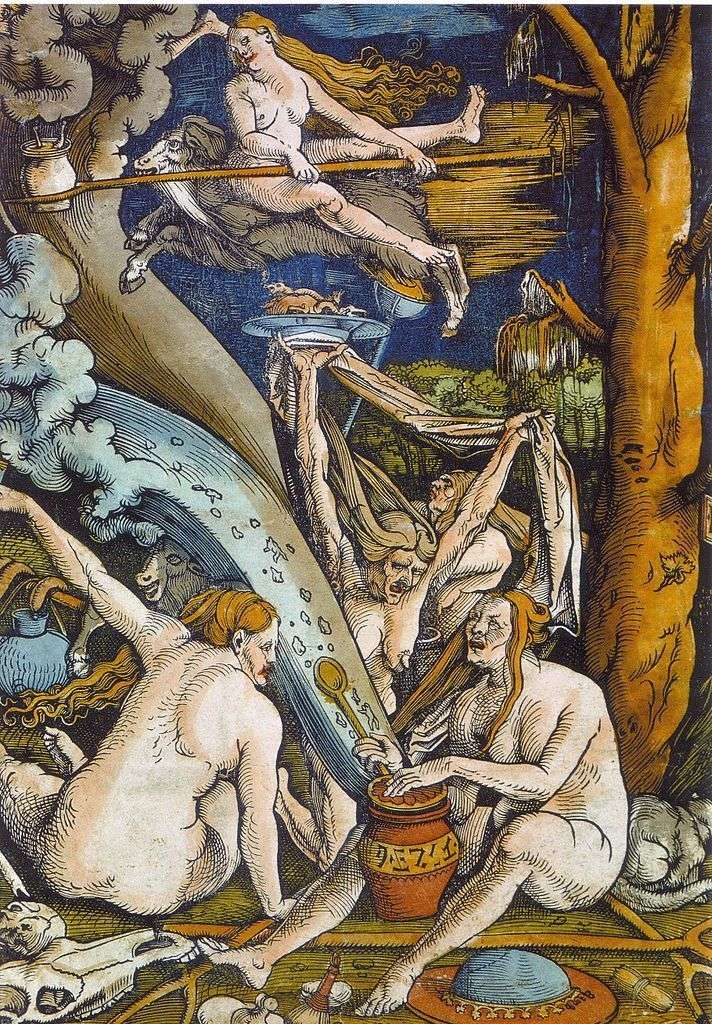 The Sabbat of the Witches by Hans Baldung