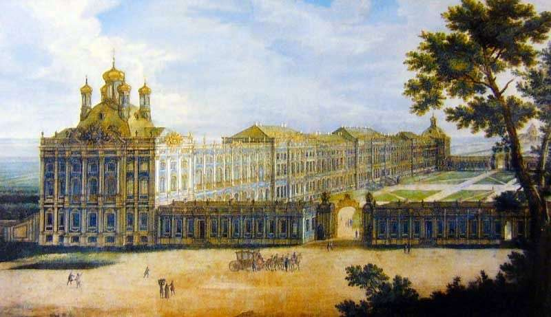 View of the Grand Palace by Friedrich Hartmann Barizien