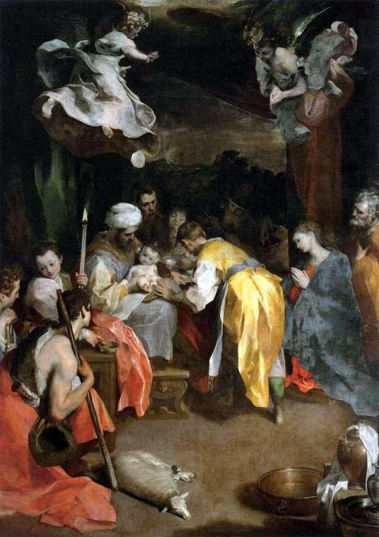 Circumcision by Federico Barocci