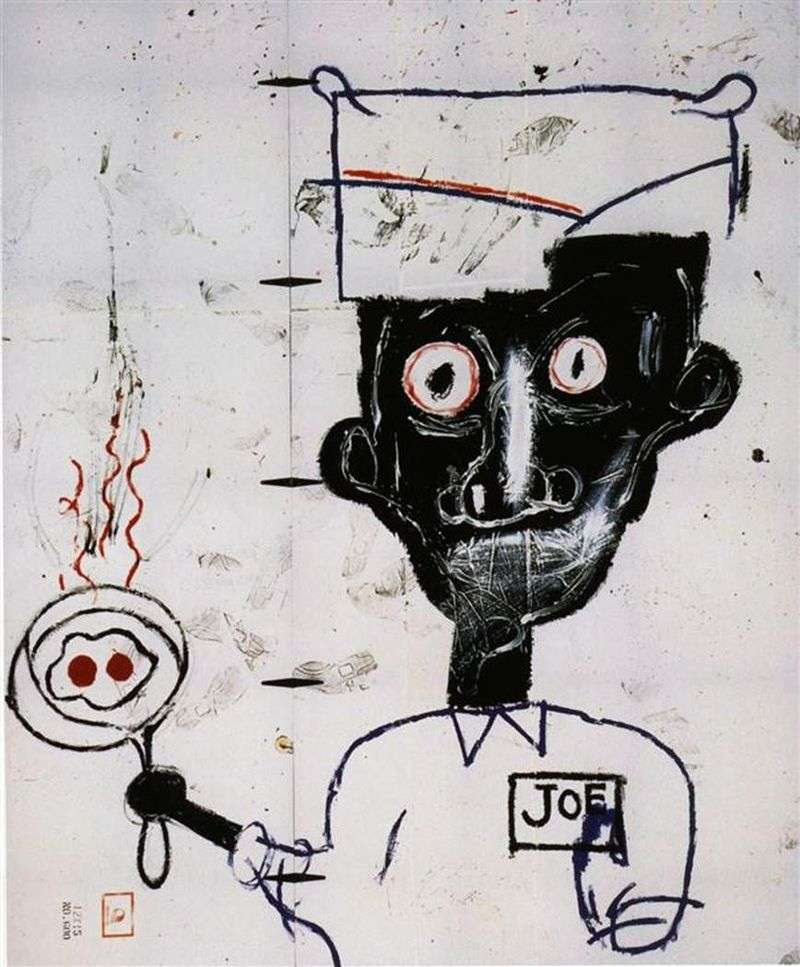 Eyes and Eggs   Jean Michel Basquiat