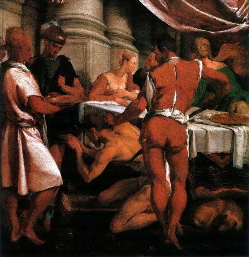Execution of John the Baptist by Jacopo Bassano