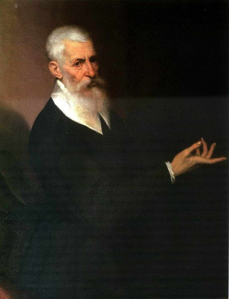 Portrait of a man by Jacopo Bassano