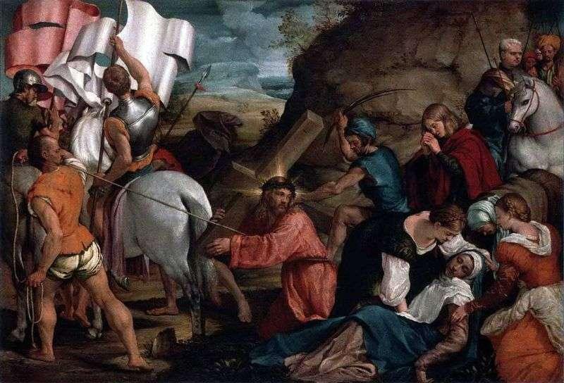 Procession to Calvary by Jacopo Bassano