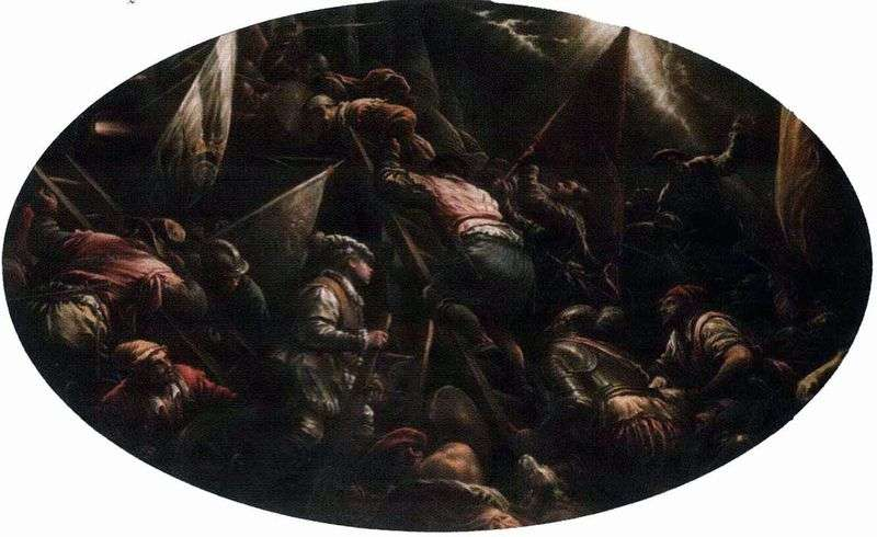 Assault of Padua by Jacopo Bassano
