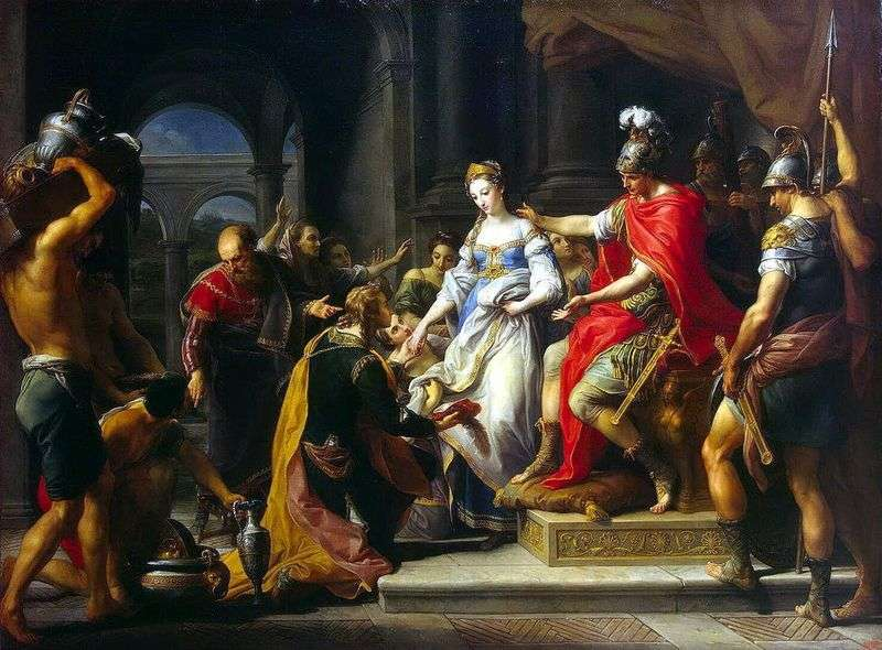 Forbearance of Scipio of African by Pompeo Batoni