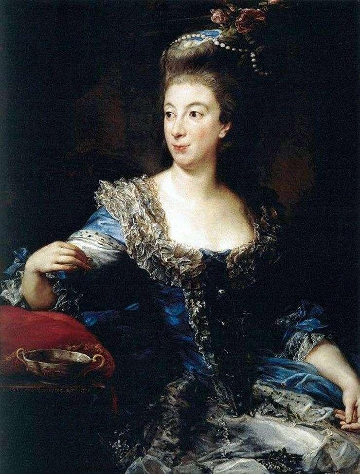 Countess of San Martino by Pompeo Batoni