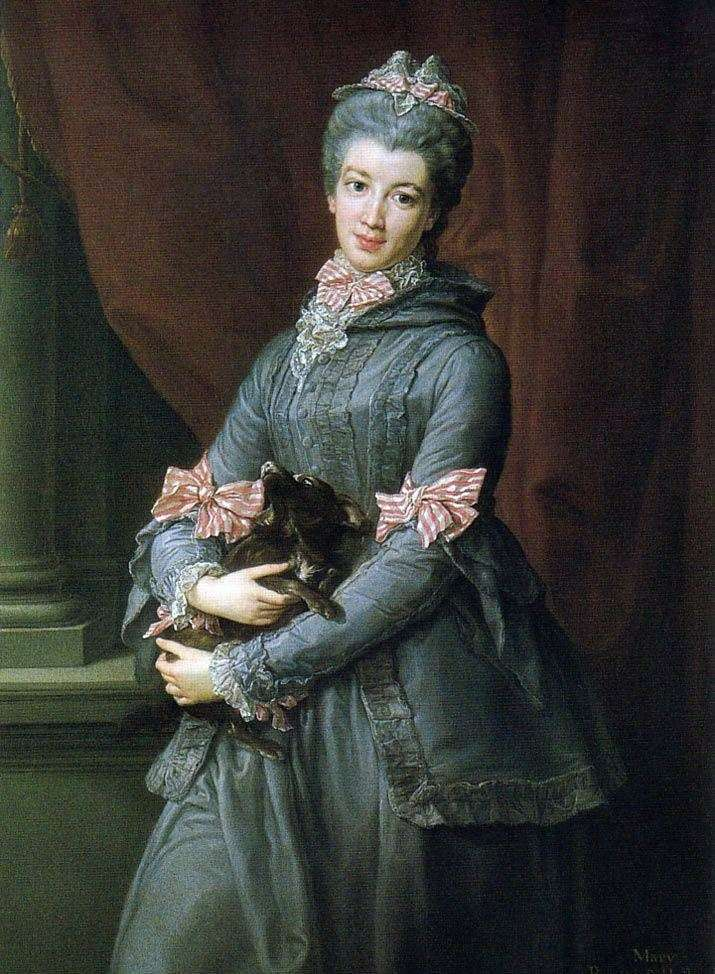 Portrait of Baroness Lady Mary Fox by Pompeo Batoni