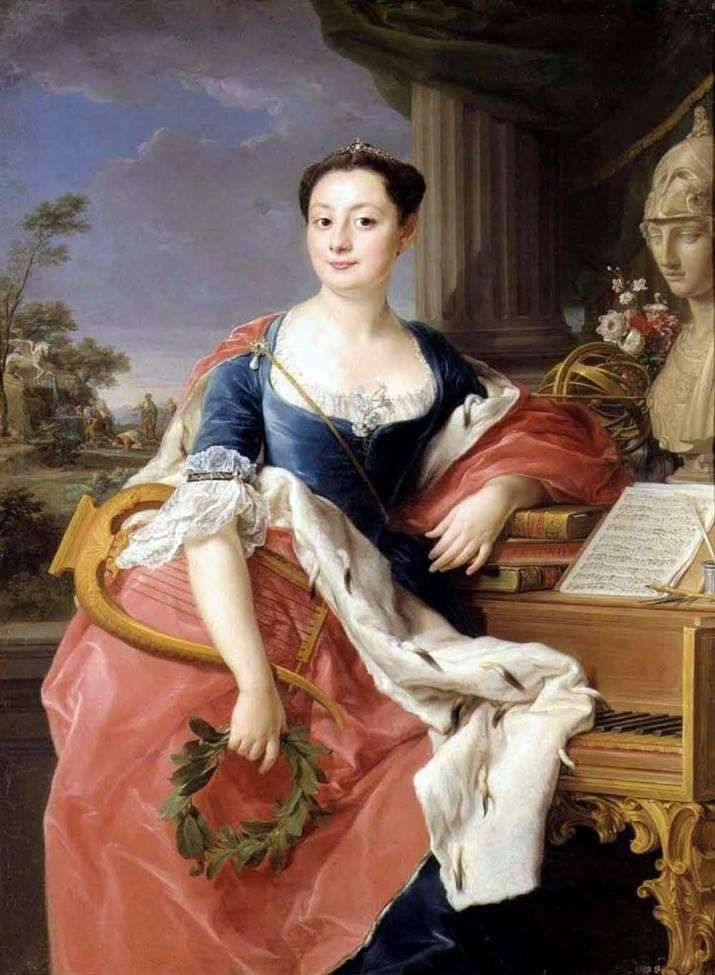 Portrait of Princess Hyacinth Orsini by Pompeo Batoni
