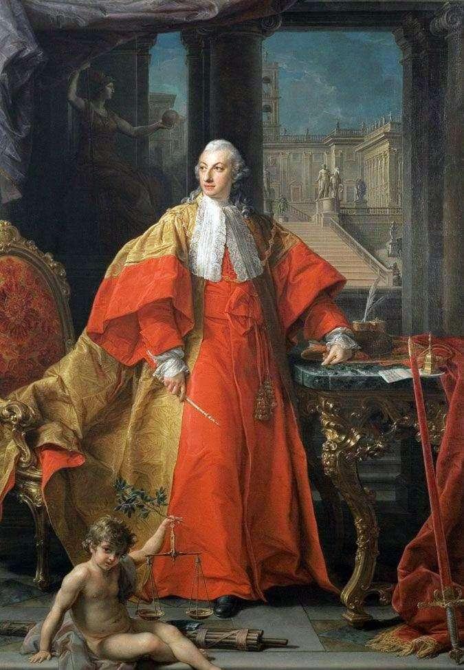 Portrait of Senator Abbondio Rezzonico by Pompeo Batoni