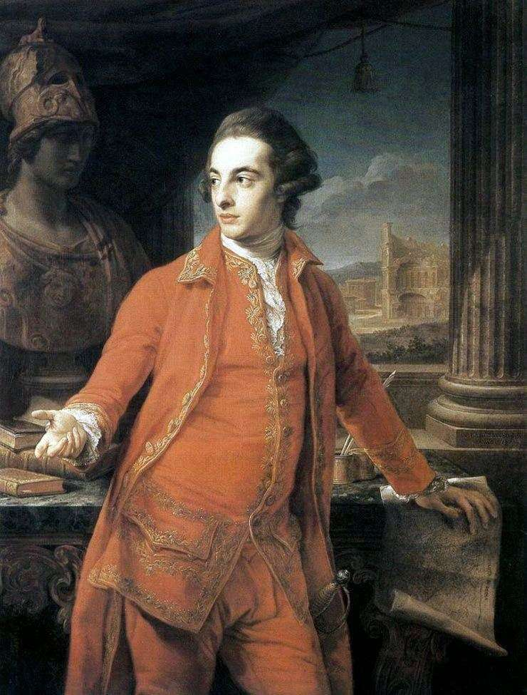 Portrait of Sir Gregory Page Turner by Pompeo Batoni