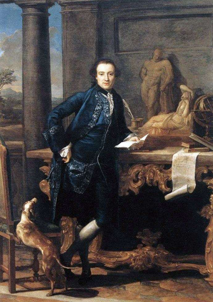 Portrait of Charles Crowle by Pompeo Batoni