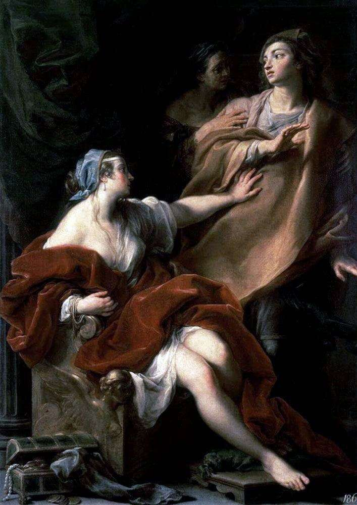 Lust by Pompeo Batoni