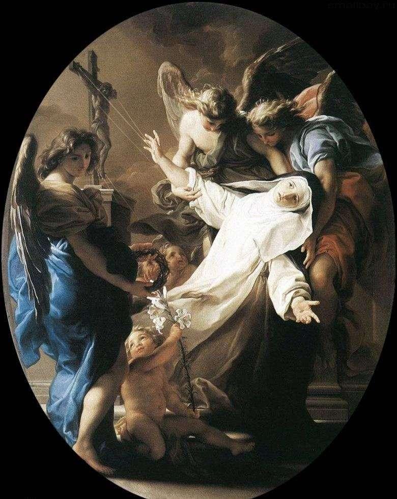 Ecstasy of Saint Catherine of Siena by Pompeo Batoni