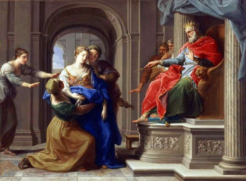 Esther before Artaxerxes by Pompeo Batoni