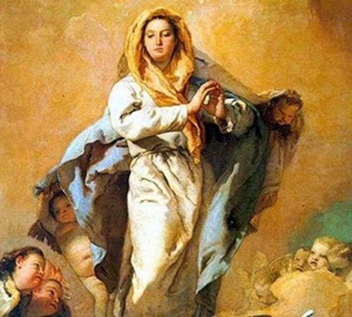 Immaculate Conception by Giovanni Battista Tiepolo