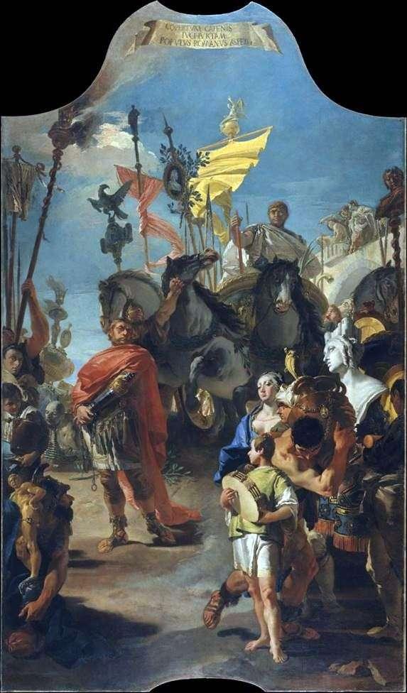 Triumph Maria by Giovanni Battista Tiepolo