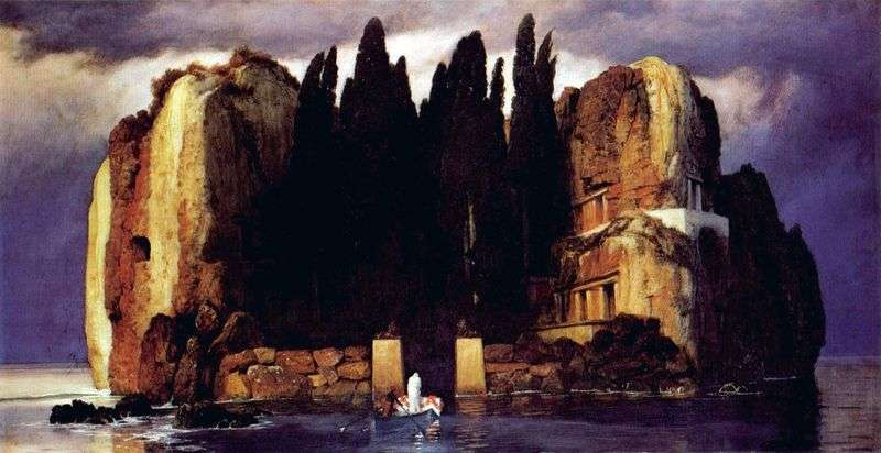 The Island of the Dead by Arnold Becklin
