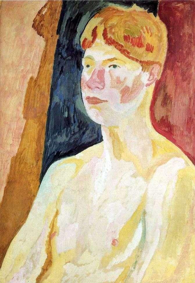 Portrait of David Garnet by Vanessa Bell