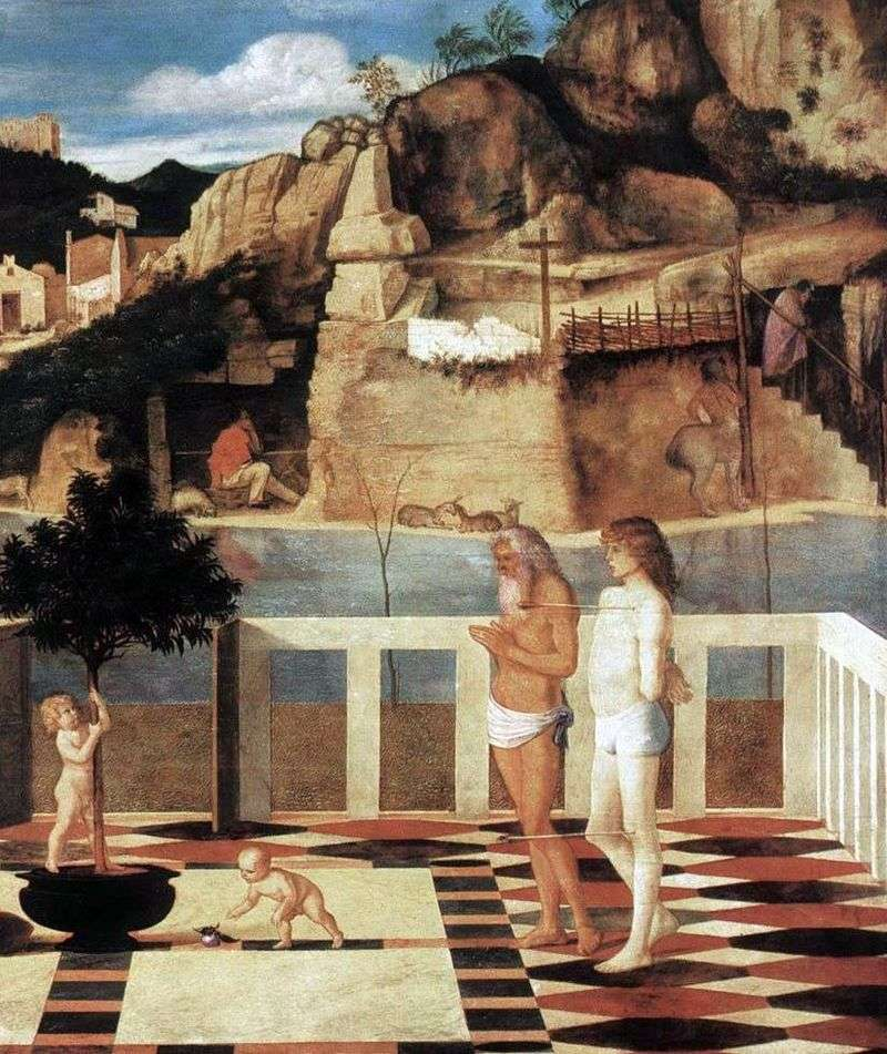 Allegory of Purgatory by Giovanni Bellini