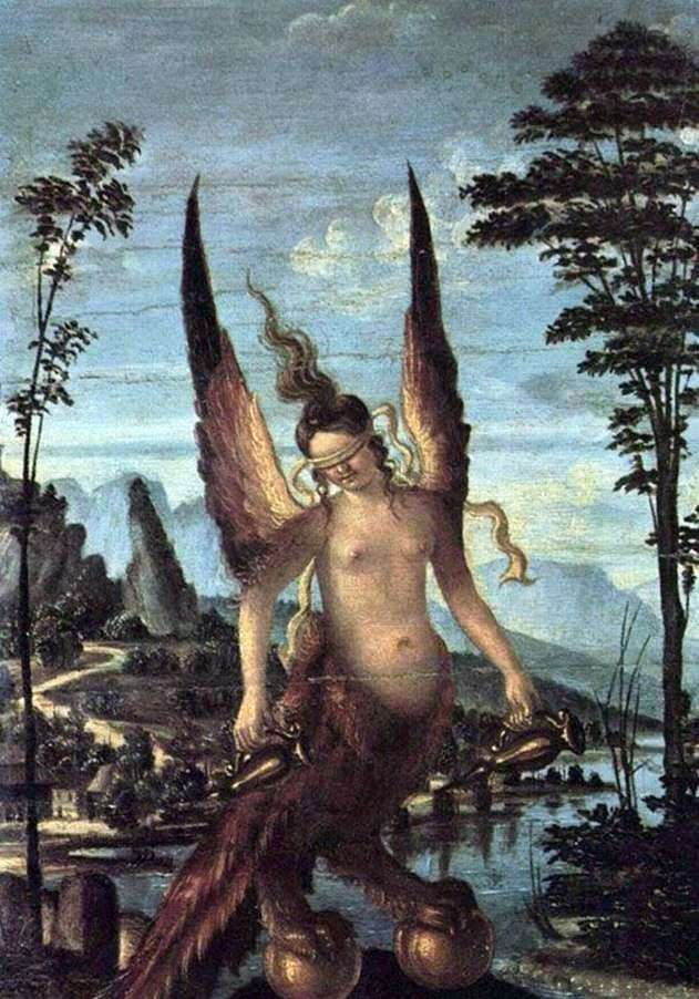 Greed or Virtue by Giovanni Bellini