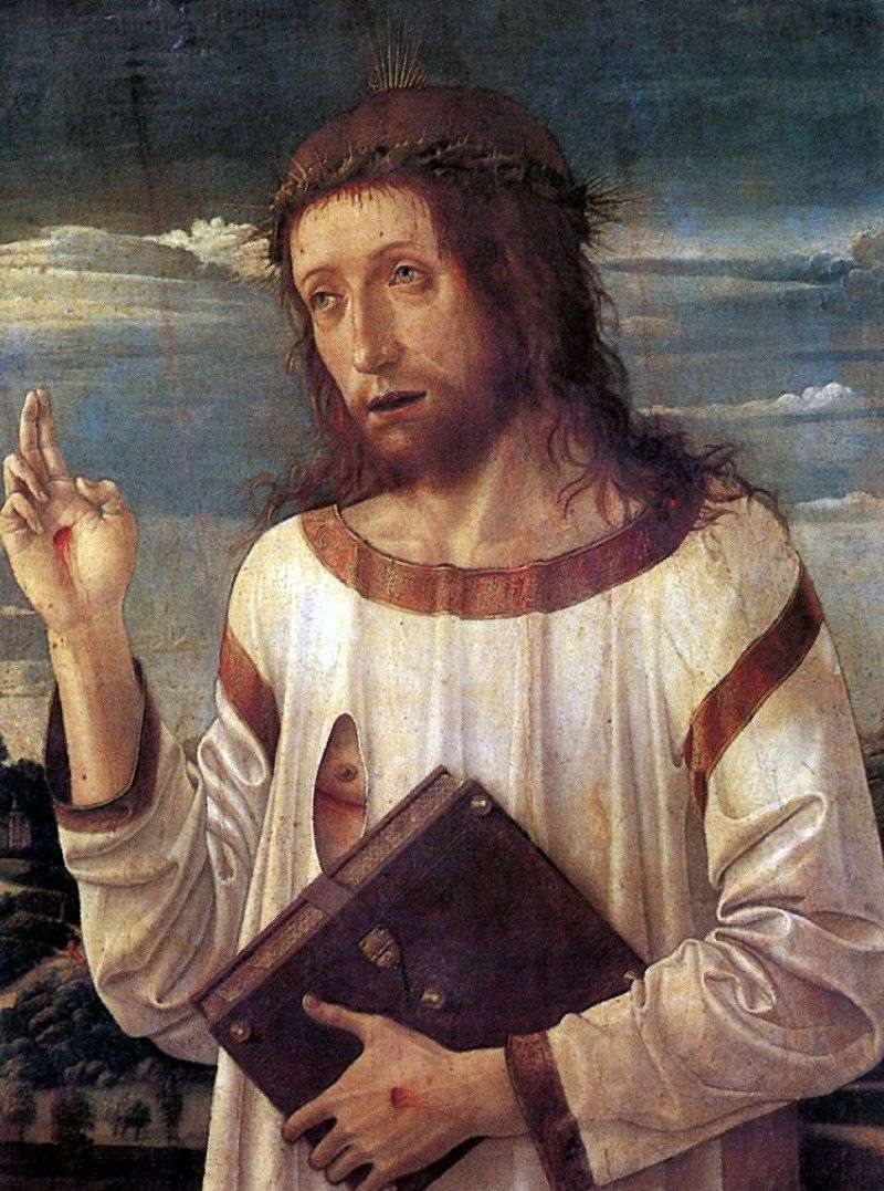 The Blessing Christ by Giovanni Bellini