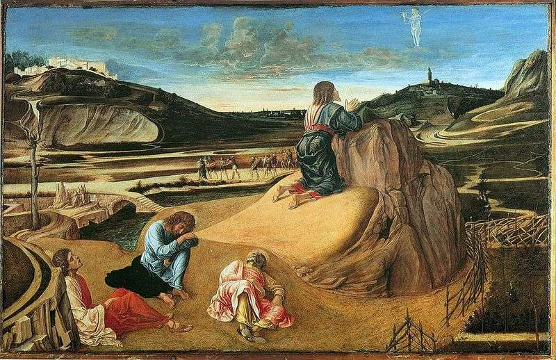 Prayer for the Chalice or Agony in the Garden   Giovanni Bellini
