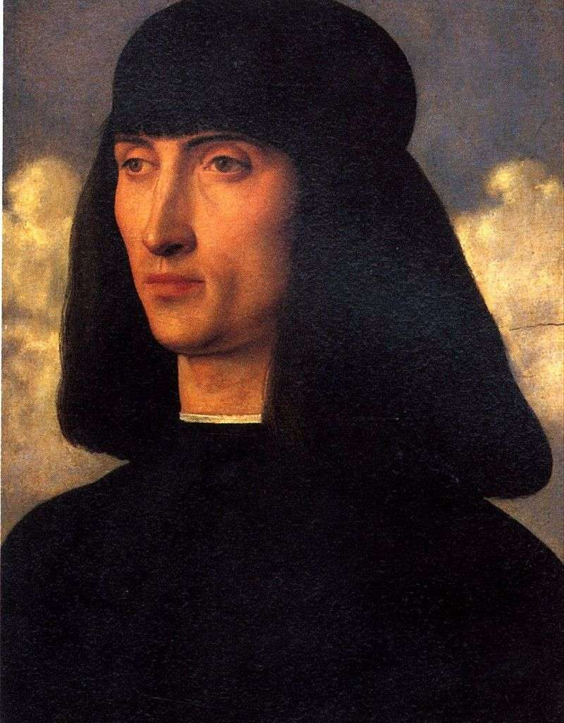 Portrait of a man by Giovanni Bellini