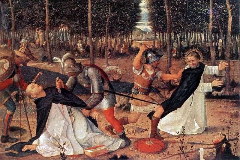 Martyrdom of St. Peter by Giovanni Bellini