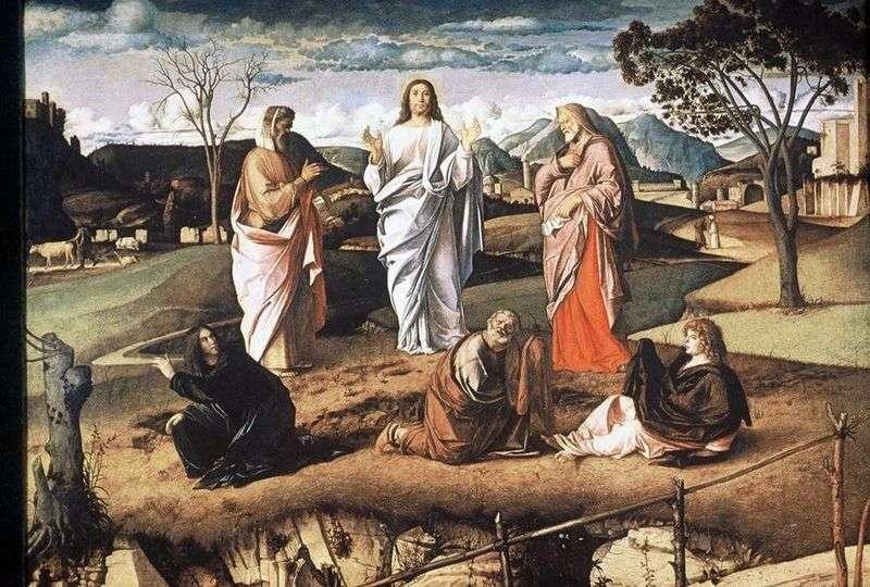 Transformation by Giovanni Bellini